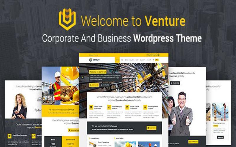 قالب شرکتی Venture