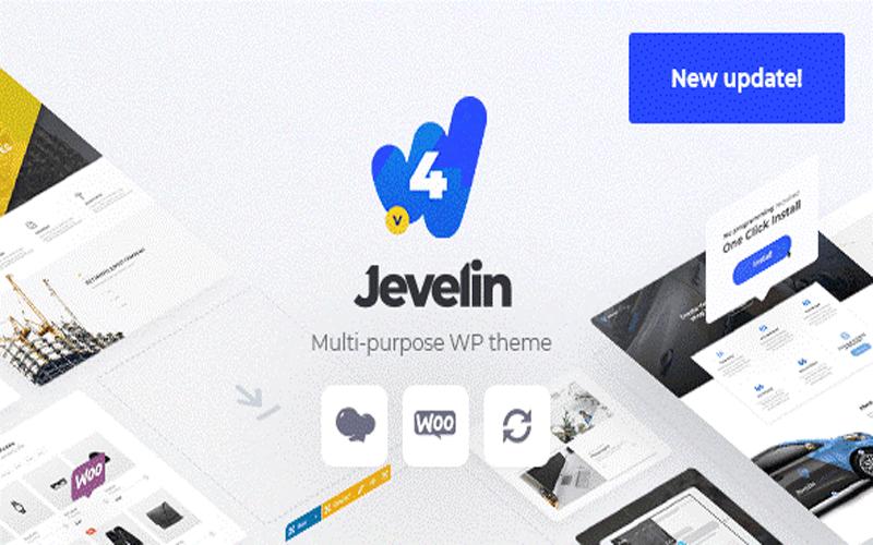 Jevelin قالب شرکتی