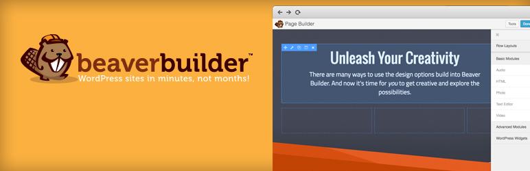 افزونه صفحه فرود وردپرس WordPress Page Builder – Beaver Builder