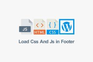 آموزش بارگذاری استایل و جاوا (js و css) قالب وردپرس در فوتر سایت