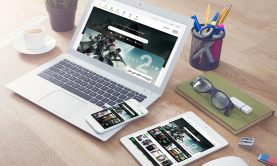 طراحی قالب وردپرس بازی سایت گیم ۲ بازی