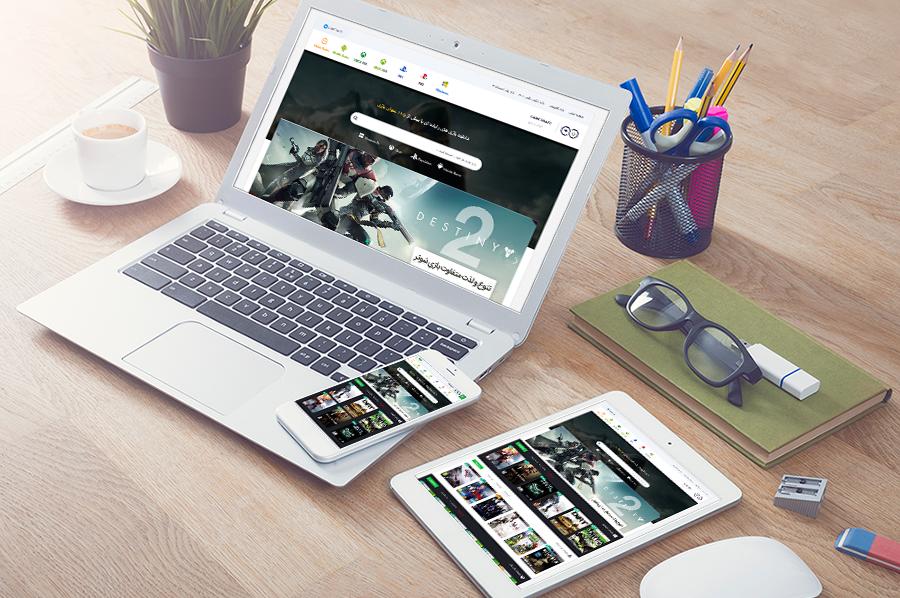 طراحی قالب وردپرس بازی سایت گیم 2 بازی