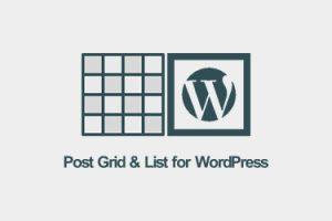 افزونه گرید مطالب وردپرس – نمایش نوشته ها به شکل شبکه یا لیست