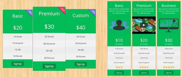 دانلود افزونه جدول قیمت برای وردپرس PickPlugins
