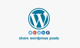 اشتراک گذاری مطالب وردپرس با کد و افزونه + انتشار خودکار نوشته در شبکه اجتماعی