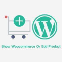نمایش محصولات ووکامرس یا edd در صفحه اصلی سایت با کد کوتاه