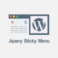 آموزش ساخت منوی چسبان sticky menu | منو چسبنده جی کوئری با افکت زیبا