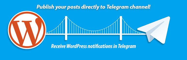 همگام سازی تلگرام و وردپرس با افزونه Telegram for WP