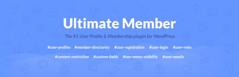افزونه پروفایل وردپرس Ultimate Member