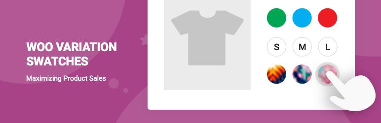 افزونه ویژگی متغییر ووکامرس WooCommerce Variation Swatches