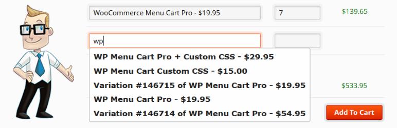 افزونه ساخت فرم سفارش سریع WooCommerce Quick/Bulk Order Form