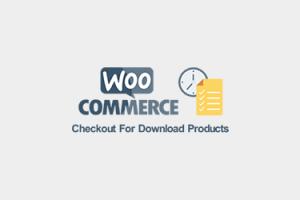 صفحه پرداخت سریع محصولات دانلودی ووکامرس با حذف فیلدهای فرم تسویه حساب
