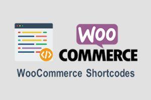 کدهای کوتاه ووکامرس یا شورت کد WooCommerce Shortcodes