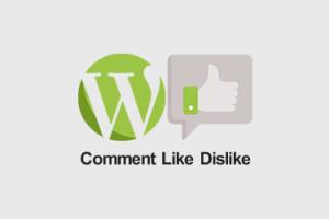 افزونه لایک نظرات وردپرس Comments Like Dislike
