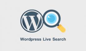 افزونه جستجو زنده وردپرس برای نمایش نتایج به صورت آژاکس Ajax live search