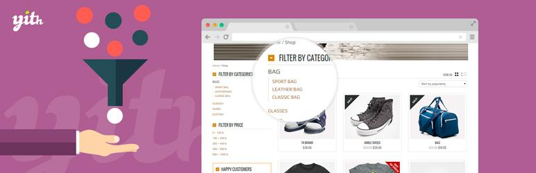 افزونه فیلتر پیشرفته محصولات ووکامرس YITH WooCommerce Ajax Product Filter