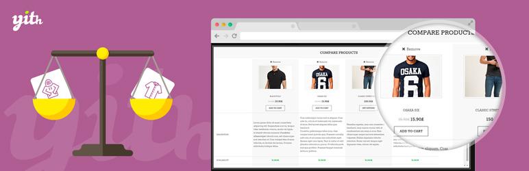 افزونه مقایسه کالاها در ووکامرس YITH WooCommerce Compare