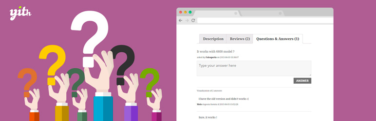 افزونه پرسش و پاسخ ووکامرس YITH WooCommerce Questions and Answers